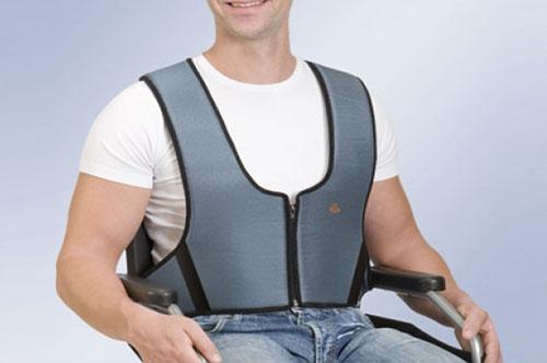 Фиксирующий жилет для кресел-колясок