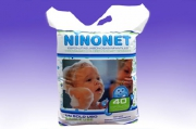 Губка пенообразующая NINONET® с ромашкой и алое вера (для детей)