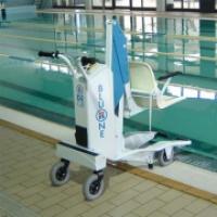 Подъемник для бассейна мобильный